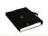Fächermappe 3 Way Flip File Präsentationsmappe schwarz weiss