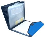 Konferenzmappen 2 Stück royalblau schwarz Schreibmappen Aktenmappen