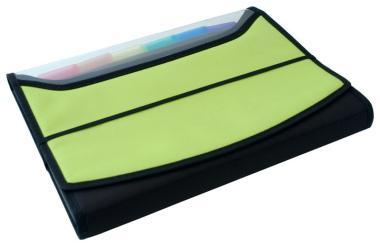 Fächermappen 2 Stück apfelgrün schwarz Schreibmappen Präsentationsmappen