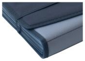 Fächermappen 2 Stück schwarz Aktentaschen Schreibmappen Präsentationsmappen