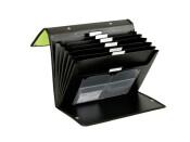 Fächermappen 2 Stück 3 Way Flip File Präsentationsmappen apfelgrün schwarz
