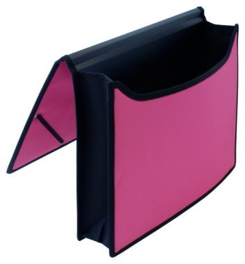 Dokumentenmappen 2 Stück himbeer schwarz Aktenmappen Angebotsmappen