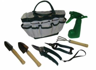Pflanzsets - 5 Stück inkl. Tasche ideal für Balkon und Garten