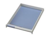 Schublade für Ablagen-Box Typ 16000, A4 grau, Vorderseite geschlossen