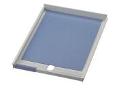 Schublade für Ablagen-Box Typ 16001, A4 grau, Vorderseite offen