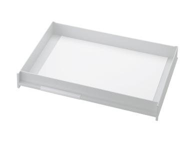 Schublade für Ablagen-Box Typ 16007, A3 weiss, Vorderseite geschlossen