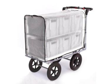 Kommissionierwagen Aktenwagen Trolley BT6 transparent