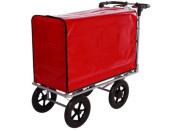 Kommissionierwagen Aktenwagen Trolley BT6 Farbe rot