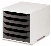 Ablagesysteme 2 Stück styrobox grau anthrazit Ablageboxen