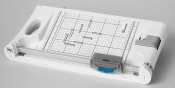 Hebel und Rollenschneider mit Eckenabrunder papermonster TG 20  Schnittlänge: 330 mm