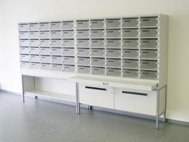 Etagen Postverteilstationen - groß