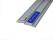 Schneidschiene 3 Stück Länge 30cm Schneidlineal Lineal eloxiert Alu rutschfest