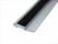 Schneidlineal 3 Stück Länge 60cm Lineal Schneidschiene eloxiert Alu rutschfest