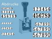 Numeroteur Modell C (Zs 7 | Zg 3,5)