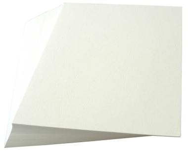 Rückenblätter 100 Stück Chromo DIN A4 weiss Stärke 250 g/qm