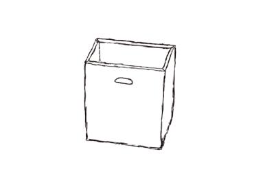 Auffangbehälter für Shredder intimus 007sf