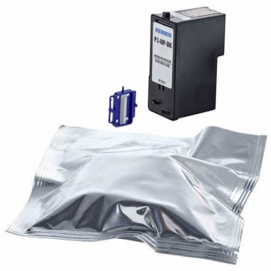 Druckpatrone P3-MP3-BK schwarz mit schnelltrocknender Farbe für Reiner jetStamp 970MP