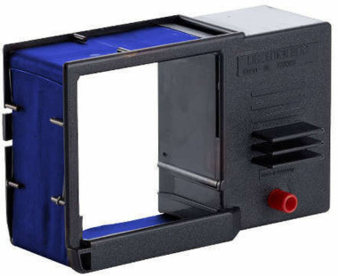Farbbandkassetten für Reiner Stempel ChronoDater 922 blau 2er Pack