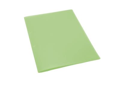 QUICK Schnellhefter A4 transparent matt grün