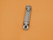 Ringbuch A4 mit 2-Ring Mechanik Ø 16mm transparent matt orange