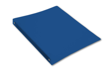 Ringbuch A4 mit 4-Ring Mechanik Ø 16mm transparent matt dunkelblau