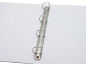 Präsentations-Ringbuch mit 4-Ring Kombi-Mechanik ø 25mm, 38mm weiss
