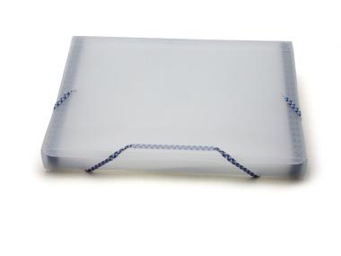 Fächermappe A4 transparent matt