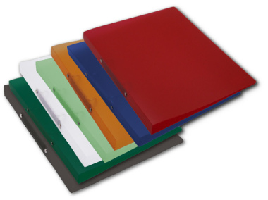 Ringbuch A4 mit 2-Ring Mechanik Ø 16mm transparent matt 7er Set