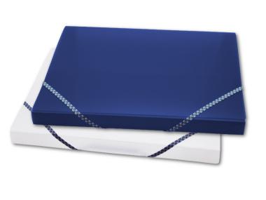 Ablagebox A4 transparent matt 2er Set
