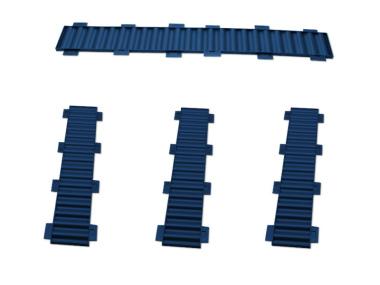 Bausatz für styrodoc duo Erweiterung blau
