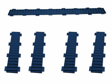 Bausatz für styrodoc trio Erweiterung blau