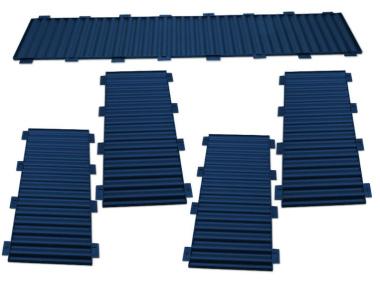 Bausatz für styrodoc trio JUMBO Erweiterung blau