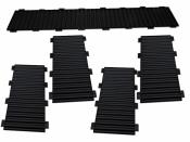 Bausatz für styrodoc trio JUMBO Erweiterung schwarz