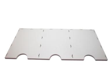 Boden / Deckel zum Bausatz für styrodoc trio oder trio JUMBO Erweiterung grau