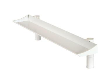Schreibtischablageschale uno Top Board 100 cm lichtgrau