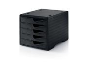 Ablagesystem styroswingbox black & black