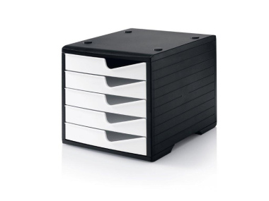 Ablagesysteme styroswingbox black & white 4 Stück