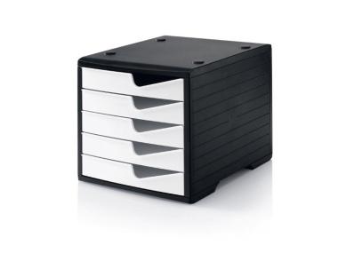Ablagesysteme styroswingbox black & white 10 Stück