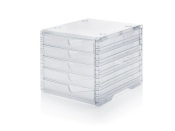 Ablagesystem styroswingbox light transparent transparent