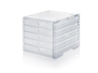 Ablagesysteme styroswingbox light transparent transparent 4 Stück