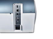 Frankiermaschine PostBase 100 mit Briefzuführung - edles Design blaugrau metallic - frank it