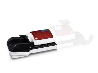 Automatische Briefzuführung für PostBase 100 - edles Design rot metallic