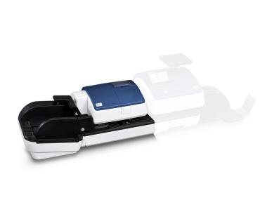 Automatische Briefzuführung für PostBase 65 - edles Design blau metallic