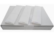 Frankierstreifen 1.000 Stück für PostBase one Streifengeber  44x167 mm   weiss