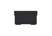 Trennwände für Karteikasten A6 quer, schwarz, 2 Stück