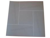 Gerichtsetiketten 400 Stück für Gerichtskostenstempler, 30x82 mm, weiss