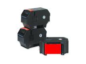 Farbbänder für Sonderstempler Modell optimail, 3`er Pack - rot