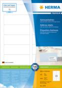 HERMA 4479 Adressetiketten Premium, weiß 88,9x33,8 mm Papier matt
