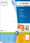 HERMA 4624 Etiketten Premium A4, weiß 96,5x67,7 mm Papier matt
