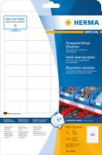 HERMA 4690 Etiketten A4 weiß 48,3x25,4 mm extrem stark haftend Folie matt